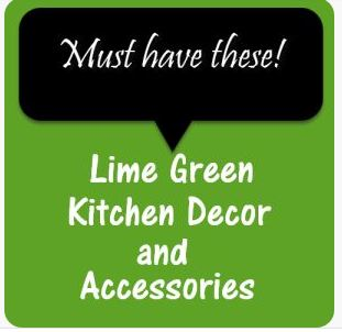 Lime Green Kitchen Decor